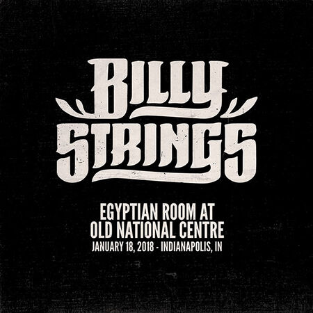 01/18/18 Egyptian Room At Old National Centre, Indianapolis, IN