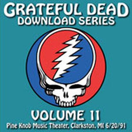 06/20/91 Grateful Dead Download Series Vol. 11: Pine Knob, Clarkston, MI