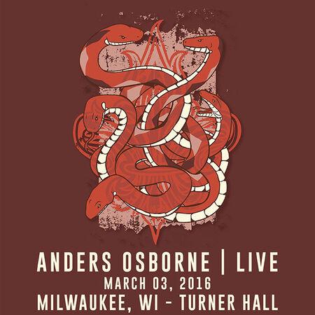 03/03/16 Turner Hall, Milwaukee, WI