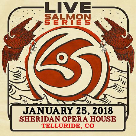 01/25/18 Sheridan Opera House, Telluride, CO