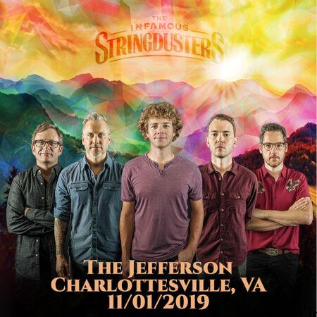 11/01/19 The Jefferson Theater, Charlottesville, VA