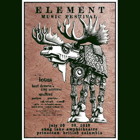 07/27/18 Element Music Festival, Princeton, BC