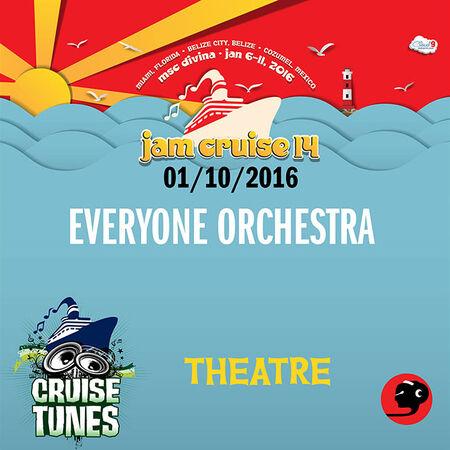 01/10/16 Theatre, Jam Cruise, US