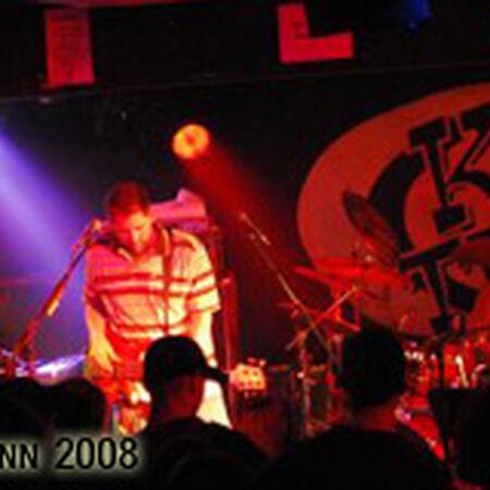 03/13/08 King Tut's Wah Wah Hut, Glasgow, SCO
