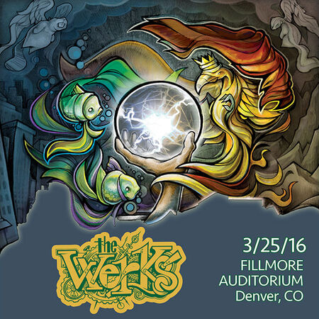 03/25/16 Fillmore Auditorium, Denver, CO