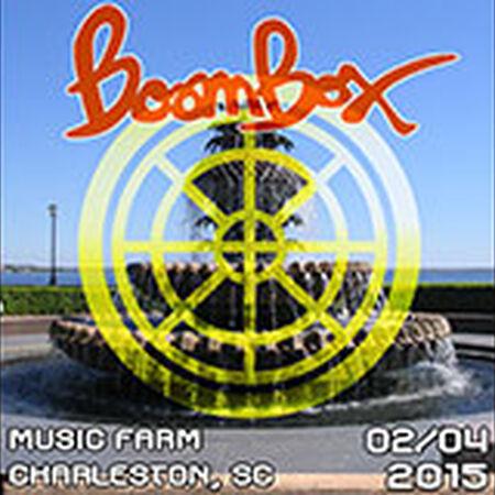 02/04/15 Music Farm, Charleston, SC