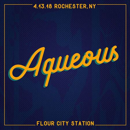 04/13/18 Flour City Station, Rochester, NY