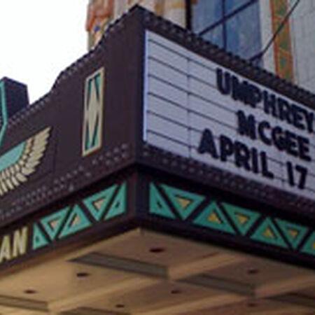 04/17/09 Egyptian Theatre, DeKalb, IL