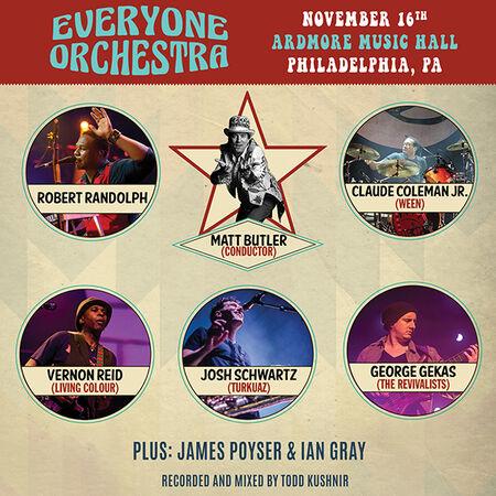 11/16/19 Ardmore Music Hall, Ardmore, PA