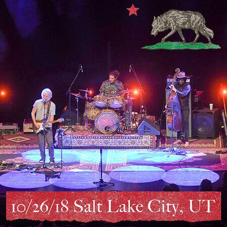 10/26/18 Eccles Theater, Salt Lake City, UT