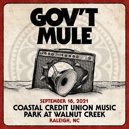 09/18/21 Coastal Credit Union Music Park at Walnut Creek, Raleigh, NC