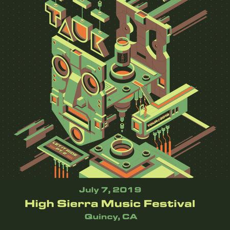 07/07/19 High Sierra Music Festival, Quincy, CA