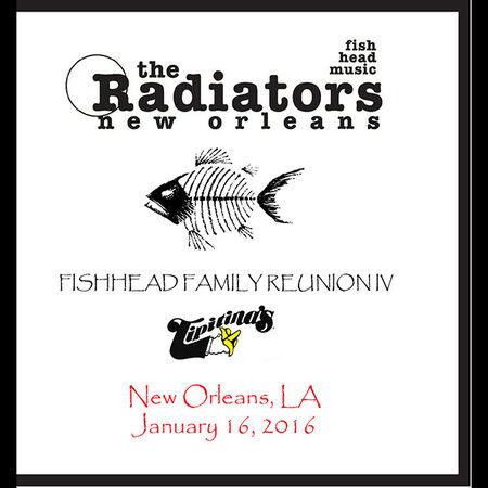 01/16/16 Tipitina's, New Orleans, LA