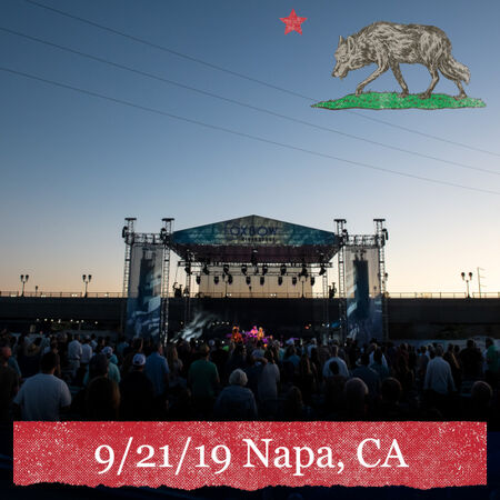 09/21/19 Oxbow Riverstage, Napa, CA