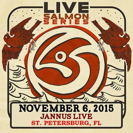 11/06/15 Jannus Live, St. Petersburg, FL