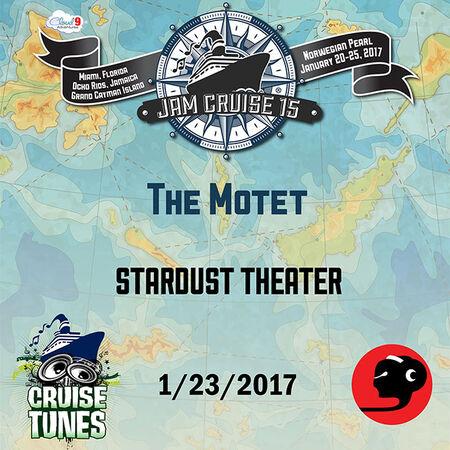 01/23/17 Stardust Theater, Jam Cruise, US