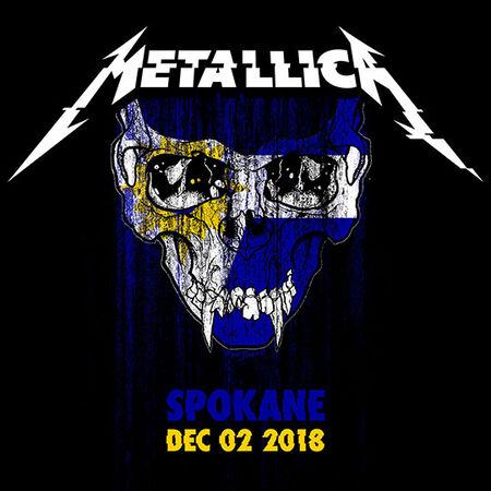 12/02/18 Spokane Arena, Spokane, WA