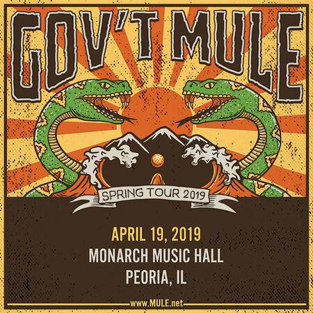 04/19/19 Monarch Music Hall, Peoria, IL