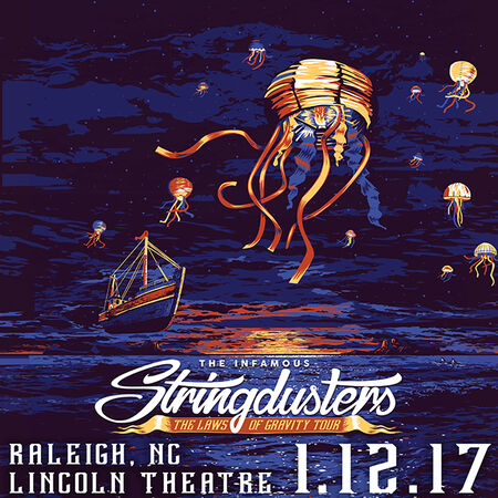 01/12/17 Lincoln Theater, Raleigh, NC