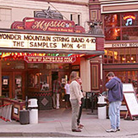 04/10/05 Mystic Theatre, Petaluma, CA