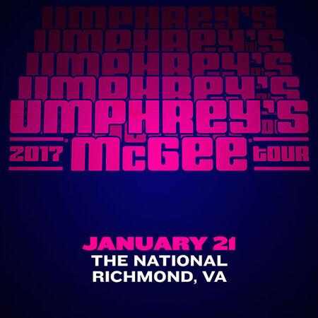 01/21/17 The National, Richmond, VA
