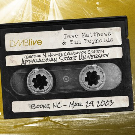 03/29/03 George M. Holmes Convention Center - Appalachian State University, Boone, NC