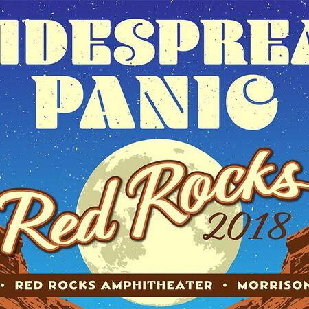 06/22/18 Red Rocks Amphitheatre, Morrison, CO