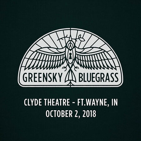 10/02/18 Clyde Theatre, Ft.Wayne, IN