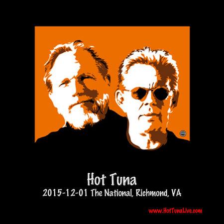 12/01/15 The National, Richmond, VA