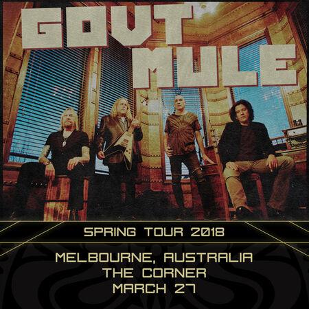 03/27/18 The Corner, Melbourne, AU