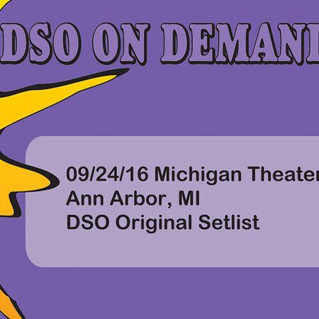 09/24/16 Michigan Theater, Ann Arbor, MI