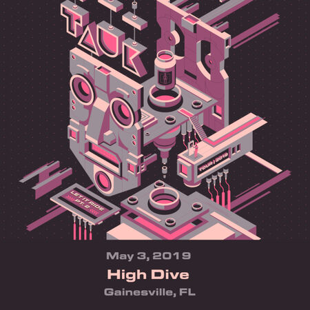 05/03/19 High Dive, Gainesville, FL