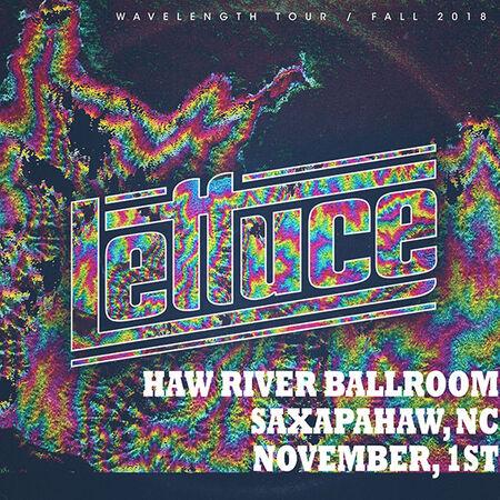 11/01/18 Haw River Ballroom, Saxapahaw, NC