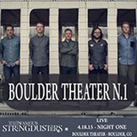 04/18/15 Boulder Theater, Boulder, CO