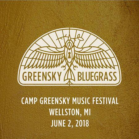 06/02/18 Camp Greensky Music Festival, Wellston, MI