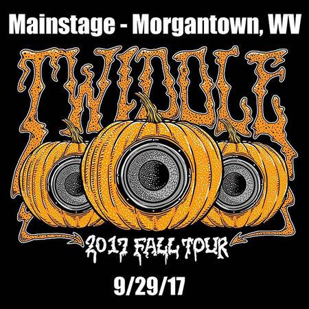 09/29/17 Mainstage Morgantown, Morgantown, WV