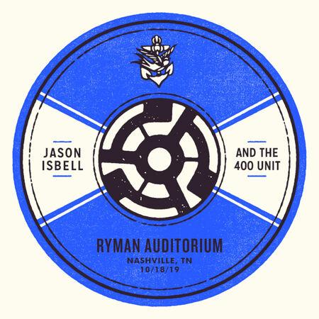 10/18/19 Ryman Auditorium, Nashville, TN