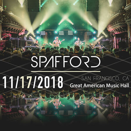 11/17/18 Great American Music Hall, San Francisco, CA