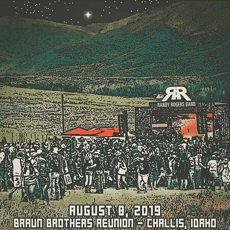 08/08/19 Braun Brothers Reunion, Challis, ID