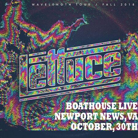 10/30/18 Boathouse Live, Newport News, VA