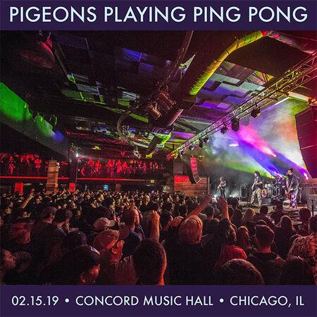 02/15/19 Concord Music Hall, Chicago, IL