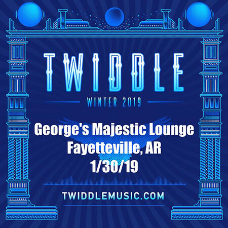 01/30/19 George's Majestic Lounge, Fayetteville, AR