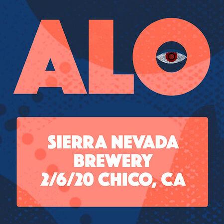 02/06/20 Sierra Nevada Big Room, Chico, CA