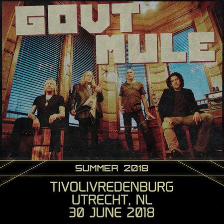 06/30/18 TivoliVredenburg, Utrecth, NL