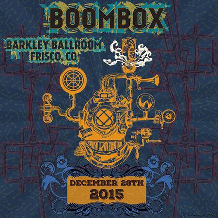 12/28/15 Barkley Ballroom, Frisco, CO