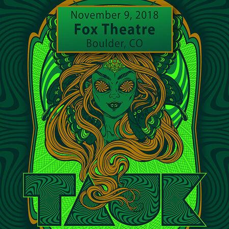 11/09/18 Fox Theatre, Boulder, CO