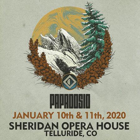 01/10/20 Sheridan Opera House, Telluride, CO