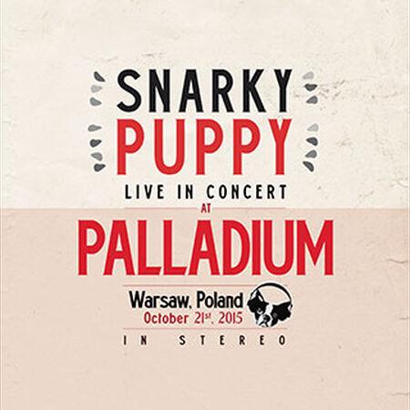 10/21/15 Palladium, Warsaw, PL