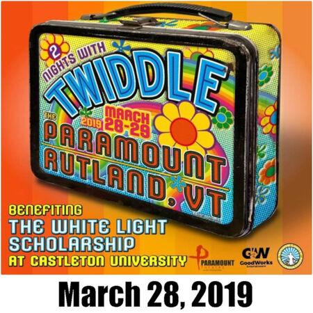 03/28/19 Paramount Theatre, Rutland, VT