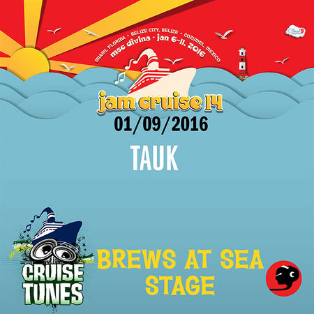 01/09/16 Brews at Sea Stage, Jam Cruise, US